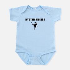 Other Ride is a Raptor Infant Bodysuit