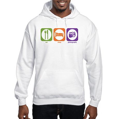 Eat Sleep Photography Hooded Sweatshirt