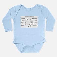 korgline trace.jpg Long Sleeve Infant Bodysuit
