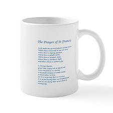 St Francis Peace Prayer Small Mug