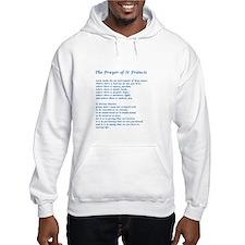 St Francis Peace Prayer Hoodie Sweatshirt