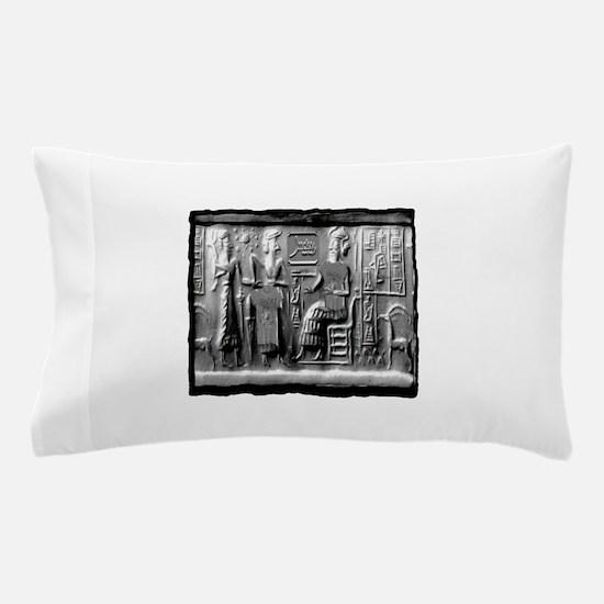 summerian tablet art illustration Pillow Case