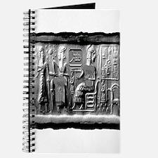 summerian tablet art illustration Journal