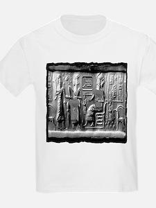 summerian tablet art illustration T-Shirt