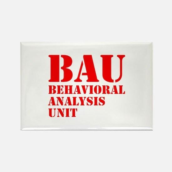 BAU Criminal Minds Rectangle Magnet