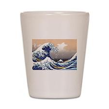 The Great Wave off Kanagawa Shot Glass