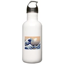 The Great Wave off Kanagawa Water Bottle