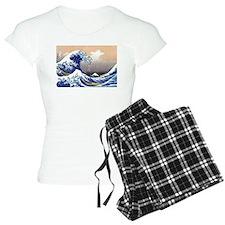 The Great Wave off Kanagawa Pajamas