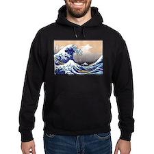 The Great Wave off Kanagawa Hoodie