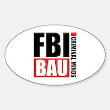 FBI BAU Criminal Minds Decal