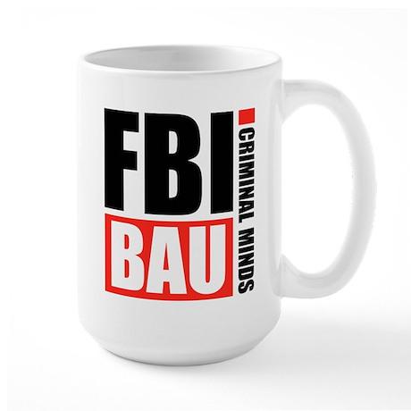 FBI BAU Criminal Minds Large Mug