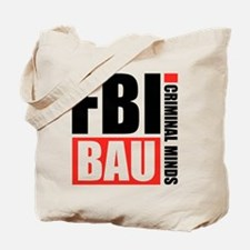 FBI BAU Criminal Minds Tote Bag