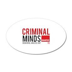 Criminal Minds 22x14 Oval Wall Peel