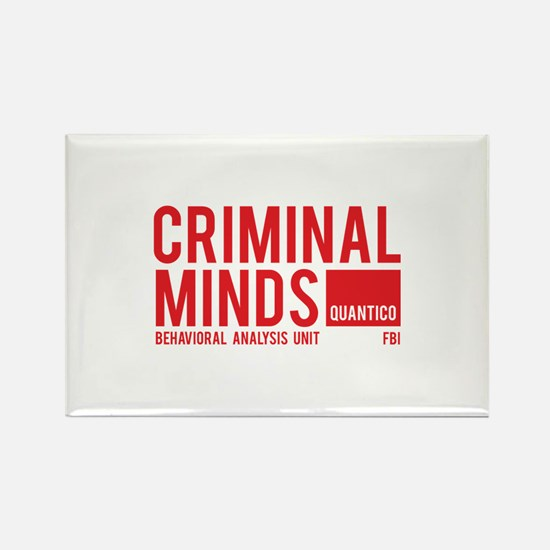 Criminal Minds Rectangle Magnet
