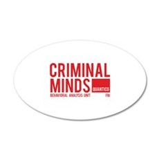 Criminal Minds 22x14 Oval Wall Peel