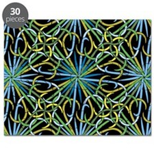 Abstract Fireworks Puzzle
