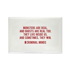 Criminal Minds Quote Rectangle Magnet