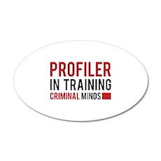 Profiler in Training 22x14 Oval Wall Peel