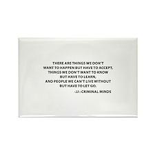 JJ Quote Criminal Minds Rectangle Magnet (10 pack)