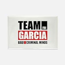 Team Garcia Rectangle Magnet