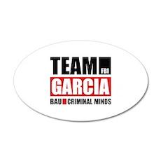Team Garcia 22x14 Oval Wall Peel