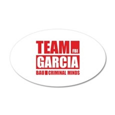 Team Garcia 22x14 Oval Wall Peel