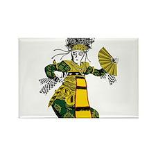 Balinese dancer T-shirt Rectangle Magnet