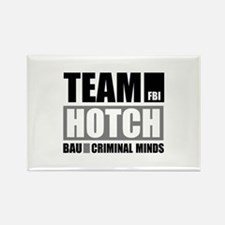 Team Hotch Rectangle Magnet
