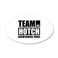Team Hotch 22x14 Oval Wall Peel