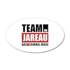 Team Jareau 22x14 Oval Wall Peel