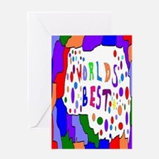 Worlds Best Greeting Card