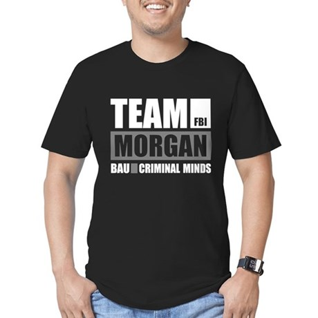 Team Morgan Men's Fitted T-Shirt (dark)