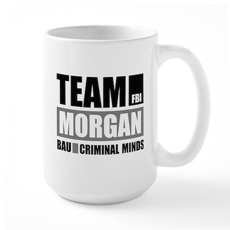Team Morgan Large Mug