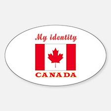 My Identity Canada Decal