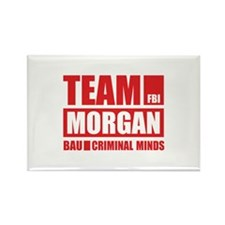 Team Morgan Rectangle Magnet