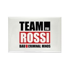 Team Rossi Rectangle Magnet