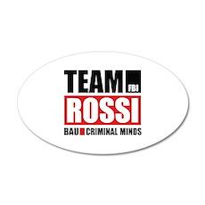 Team Rossi 22x14 Oval Wall Peel