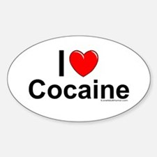 Cocaine Decal