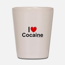 Cocaine Shot Glass