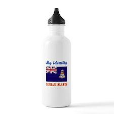 My Identity Cayman Islands Water Bottle