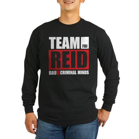 Team Reid Long Sleeve Dark T-Shirt