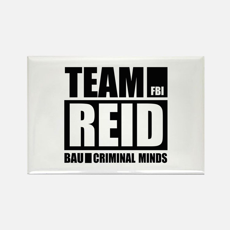Team Reid Rectangle Magnet