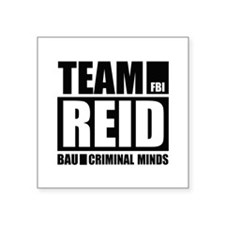 "Team Reid Square Sticker 3"" x 3"""