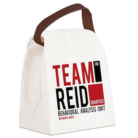 Team Reid Canvas Lunch Bag