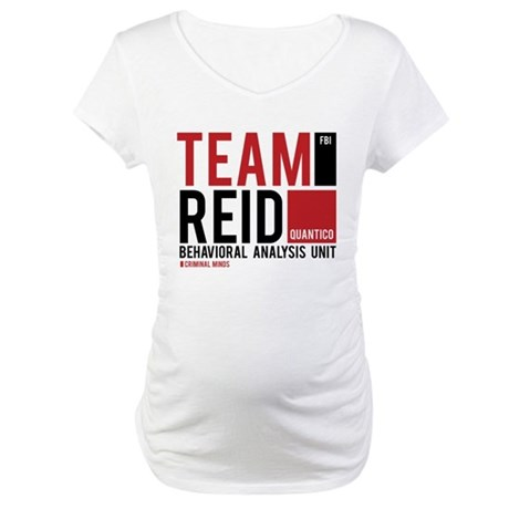 Team Reid Maternity T-Shirt