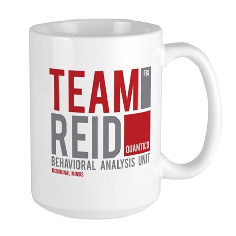 Team Reid Large Mug