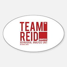 Team Reid Sticker (Oval)