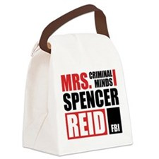 Mrs. Spencer Reid Canvas Lunch Bag