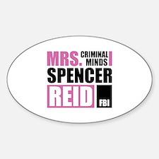 Mrs. Spencer Reid Sticker (Oval)