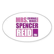 Mrs. Spencer Reid Decal